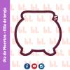 Cortador de galletas - Olla de bruja - Halloween -Diseño