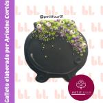 Cortador de galletas – Olla de bruja – Halloween -Diseño
