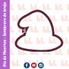 Cortador de galletas - Sombrero de bruja - Halloween -Diseño