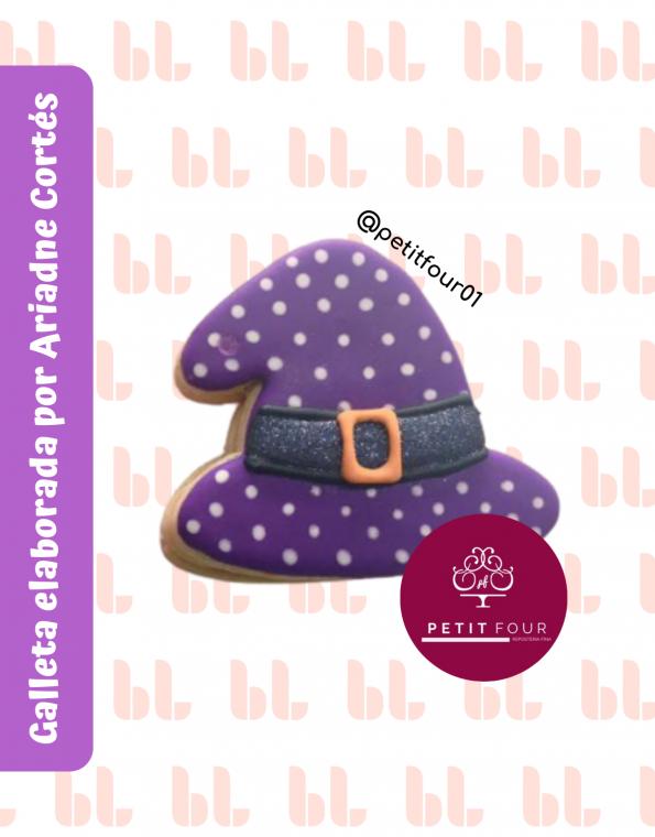Cortador de galletas – Sombrero de bruja – Halloween -Muestra