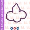 Cortador de galletas - Vela con cempasúchil - Día de muertos -Diseño